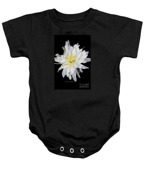 Chrysanthemum Bloom Baby Onesie