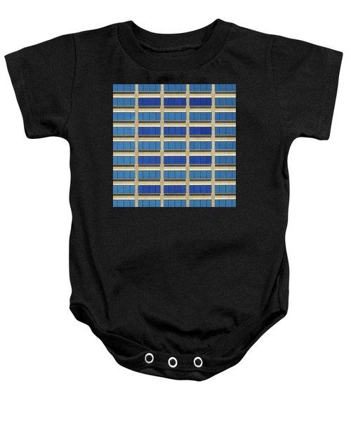 City Grid Baby Onesie