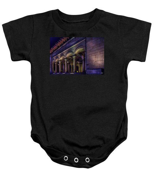 City Hall At Night Baby Onesie