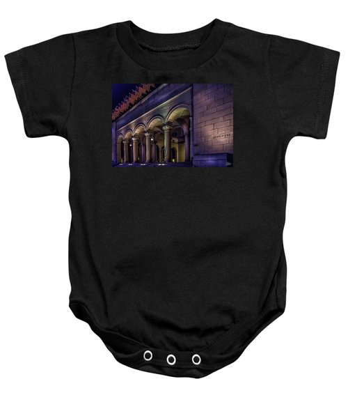 City Hall At Night Baby Onesie