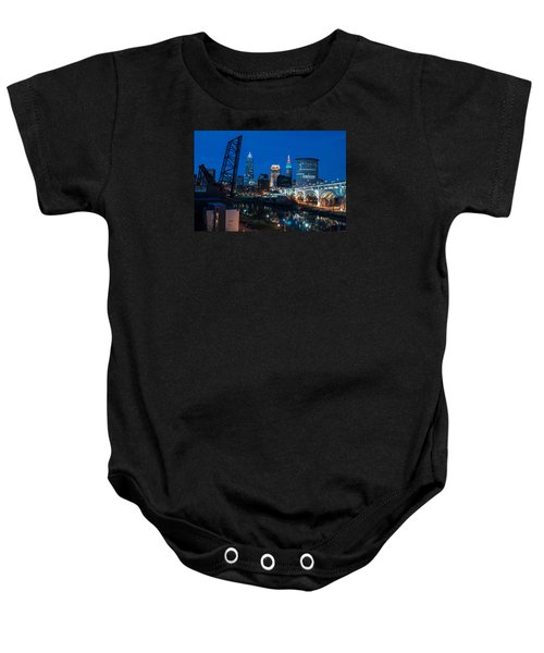 City Of Bridges Baby Onesie