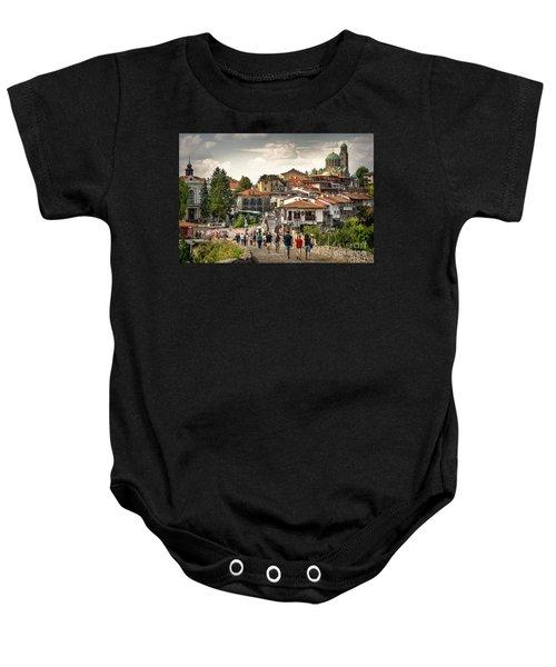 City - Veliko Tarnovo Bulgaria Europe Baby Onesie