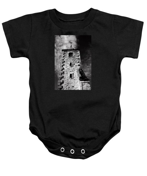 Clackmannan Tollbooth Tower Baby Onesie by Jeremy Lavender Photography