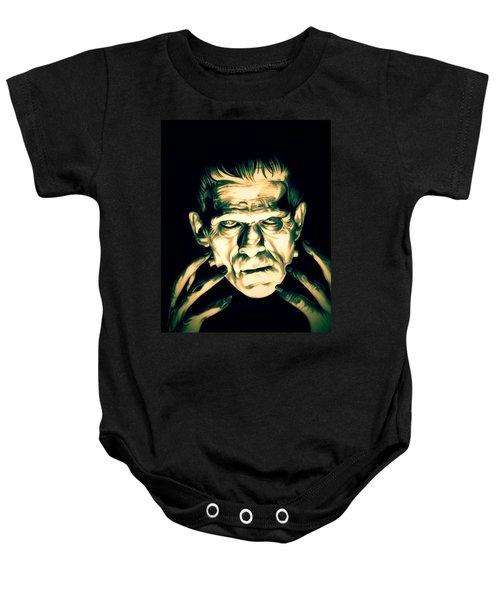 Classic Frankenstein Baby Onesie