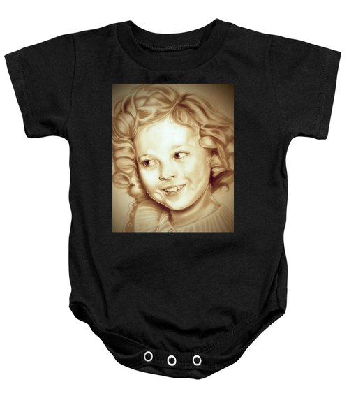 Classic Shirley Temple Baby Onesie by Fred Larucci