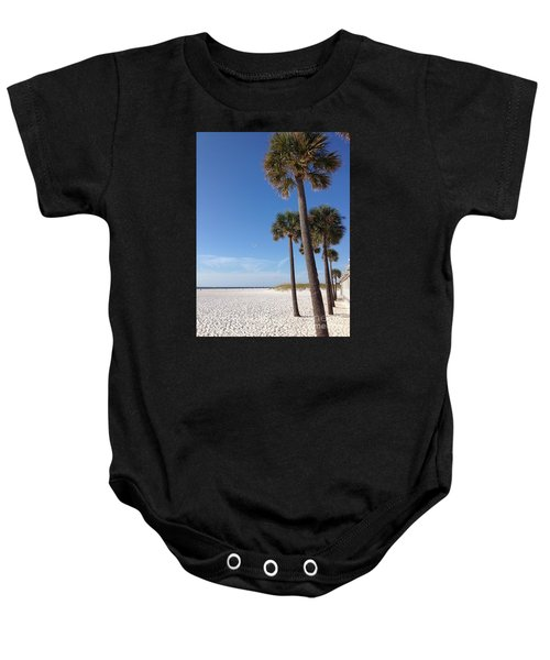 Clearwater Palms Baby Onesie