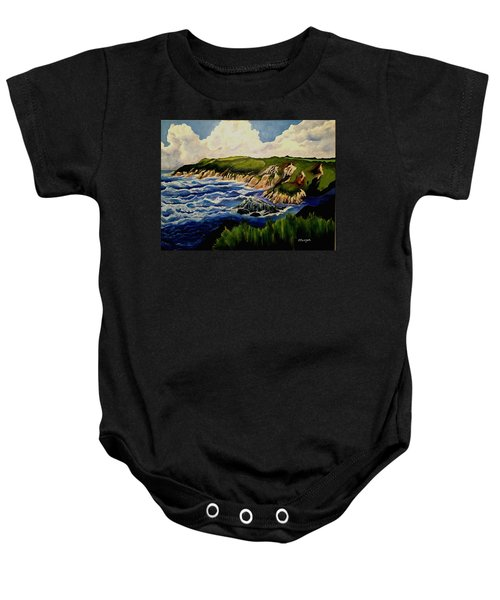 Cliffs And Sea Baby Onesie