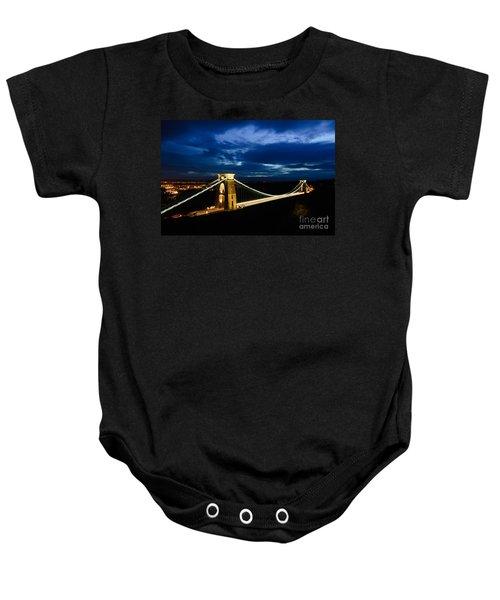Clifton Suspension Bridge, Bristol. Baby Onesie