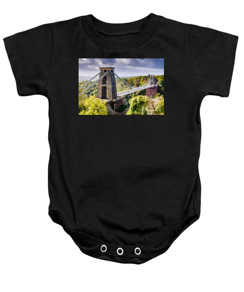 Clifton Suspension Bridge Baby Onesie
