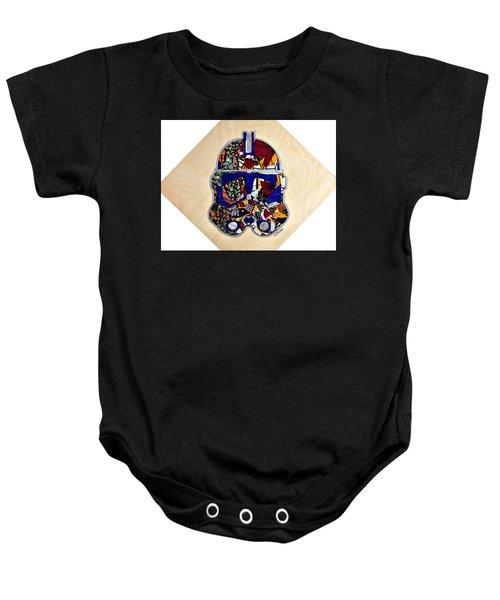 Clone Trooper Star Wars Afrofuturist Baby Onesie