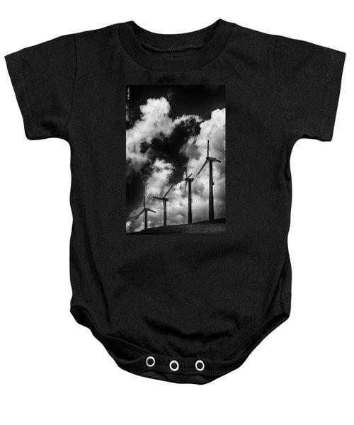 Cloud Blowers Baby Onesie