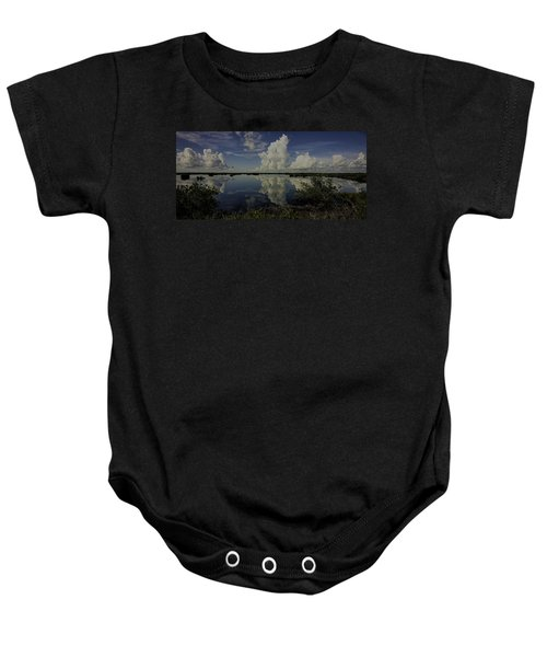 Clouds And Reflections Baby Onesie