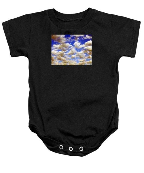 Clouds Blue Sky Baby Onesie