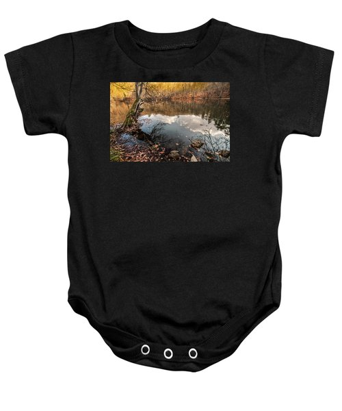 Clouds On The Lake Baby Onesie
