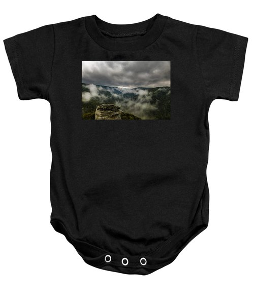 Clouds Rising At Lindy Point Baby Onesie