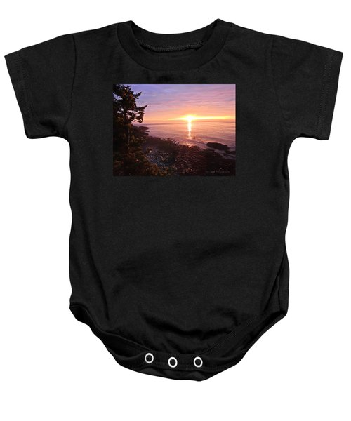 Coastal Sunrise Baby Onesie