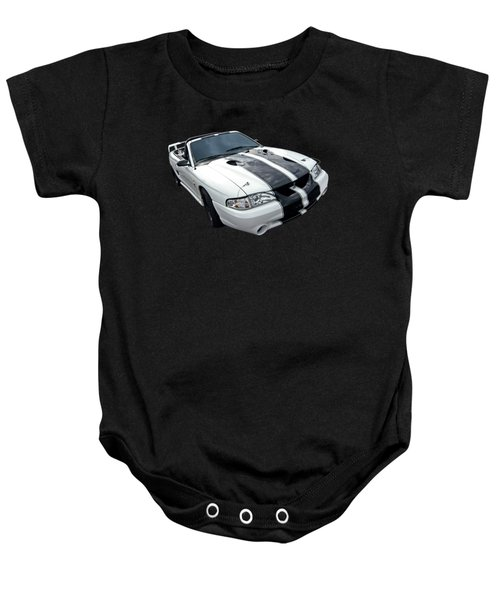 Cobra Mustang Convertible Baby Onesie by Gill Billington