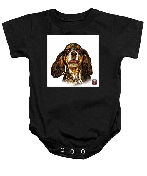 Cocker Spaniel Pop Art - 8249 - Wb Baby Onesie