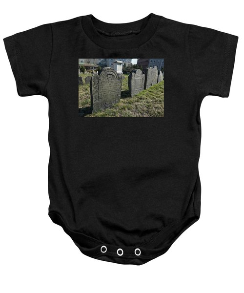 Colonial Graves At Phipps Street Baby Onesie