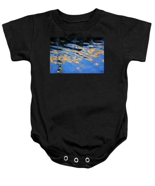 Color Abstraction Lxiv Baby Onesie