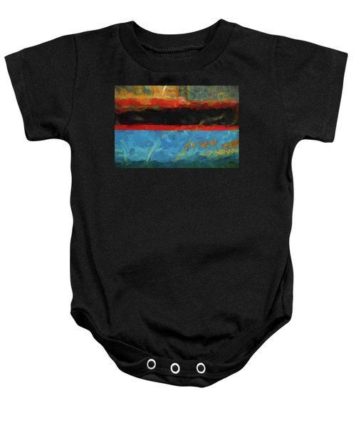 Color Abstraction Xxxix Baby Onesie