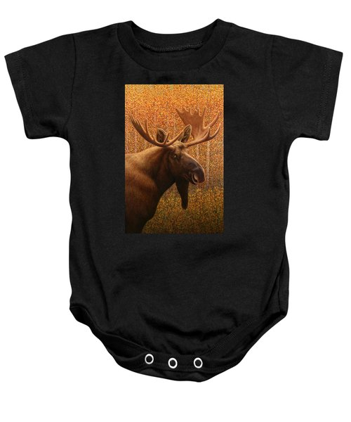 Colorado Moose Baby Onesie