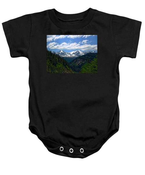 Colorado Rocky Mountains Baby Onesie