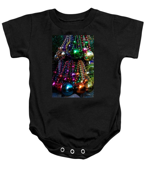 Colorful Baubles Baby Onesie
