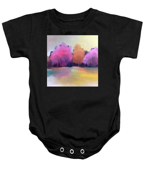 Colorful Reflection Baby Onesie