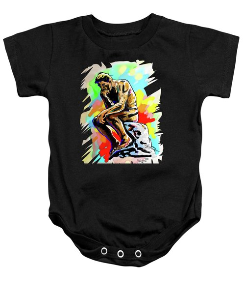 Colorful Thinker Baby Onesie