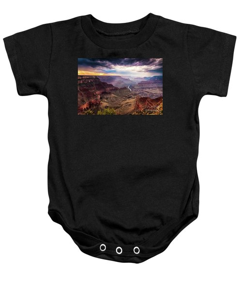 Colors Of The Canyon Baby Onesie