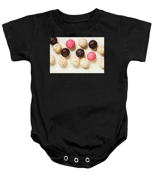 Colourful Cupcakes Baby Onesie