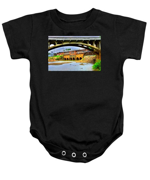 Columbia Canal At Gervais Street Bridge Baby Onesie