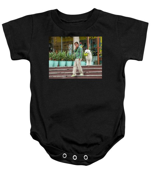 Come On And Play Baby Onesie