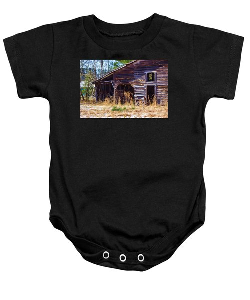Coming Apart With Character Barn Baby Onesie