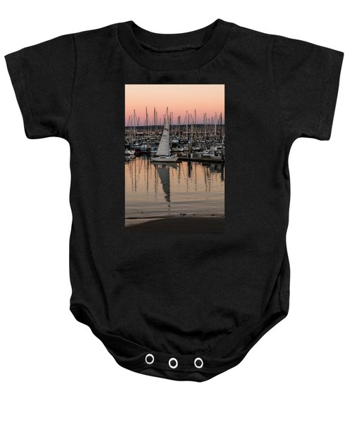 Coming Into The Harbor Baby Onesie
