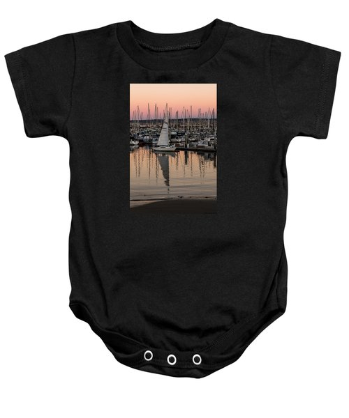 Coming Into The Harbor Baby Onesie
