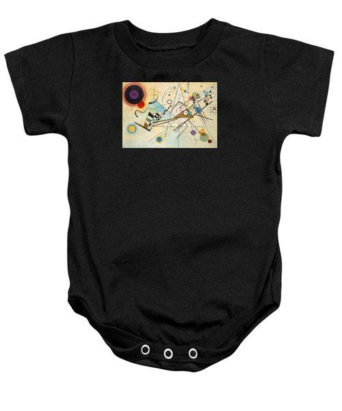 Composition Viii Baby Onesie