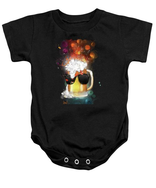 Cool Beer Baby Onesie