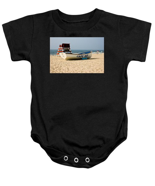 Cool Cape May Beach Baby Onesie