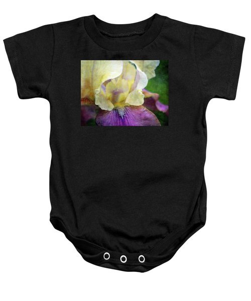Cool Toned Purple Iris 0319 Idp_3 Baby Onesie