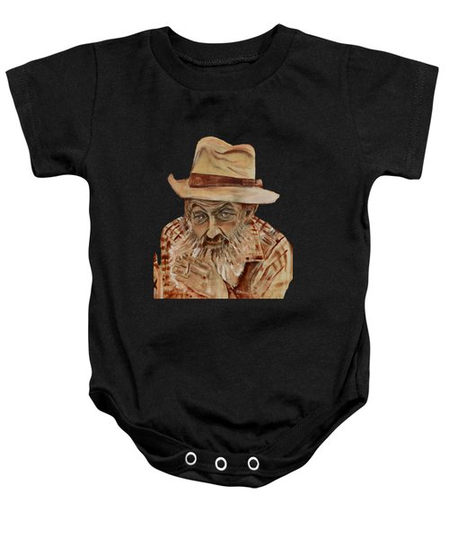 Coppershine Popcorn Bust - T-shirt Transparency Baby Onesie