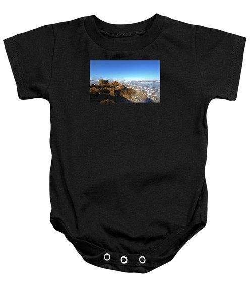 Coquina Beach Baby Onesie