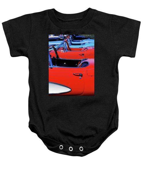 Corvette Row Baby Onesie