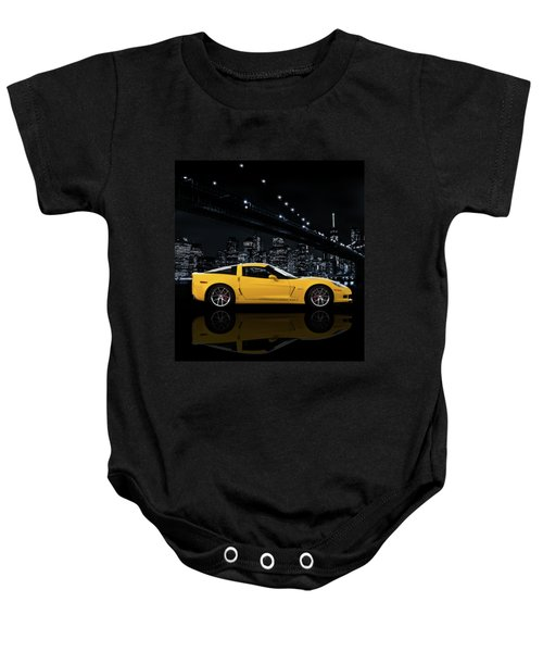 Corvette Z06 Gt1 Baby Onesie