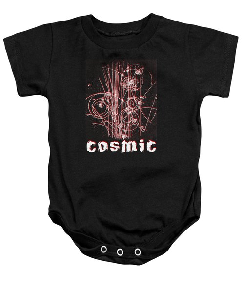 Cosmic Bubbles Baby Onesie