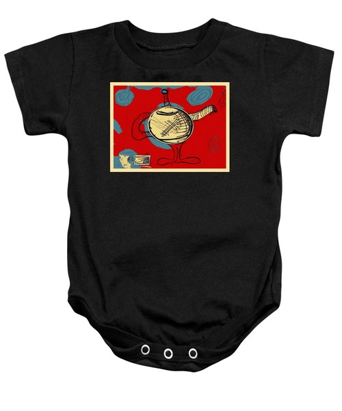 Cosmic Tea Time Baby Onesie