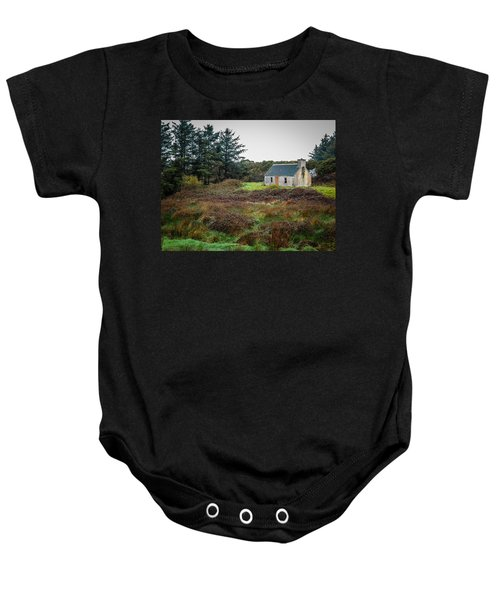 Cottage In The Irish Countryside Baby Onesie