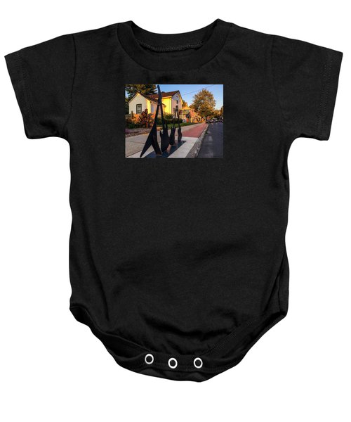 Cottage Street Guitars Baby Onesie