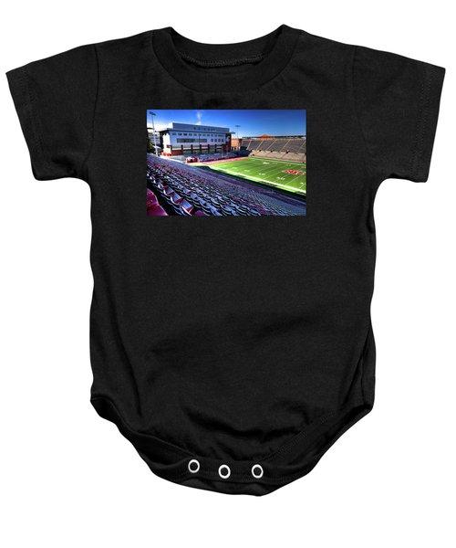Cougar Football Complex At Martin Stadium Baby Onesie